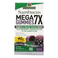 Nature's Answer Sambucus - Mega - Gummies - 7x - 30 Count