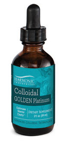 Harmonic Innerprizes Colloidal Golden Platinum 2 oz