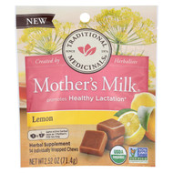 Traditional Medicinals Chews - Organic - Mother's Milk - Lemon - 2.52 Oz