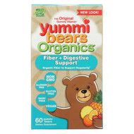Yummi Bears Organics - Fiber And Digestive Support - 60 Count