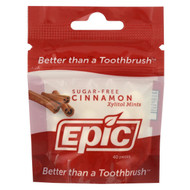 Epic Dental - Xylitol Mints - Cinnamon - Case Of 10-40 Ct