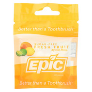 Epic Dental - Xylitol Mints - Fresh Fruit - Case Of 10-40 Ct