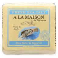 A La Maison - Bar Soap - Fresh Sea Salt  - Case Of 6 - 3.5 Oz