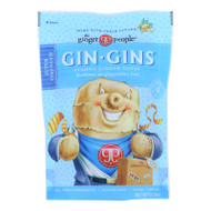 Ginger People - Gin Gins Ginger Candy - The Traveler's Candy - Case Of 12 - 3 Oz.