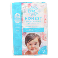 The Honest Company - Diapers Size 2 - Rose Blossom - 32 Count