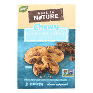 Back To Nature Cookies - Chewy Chocolate Chunk - Case Of 6 - 8 Oz