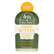 4th And Heart - Ghee - Original - Case Of 5 - 0.7 Oz