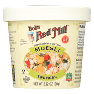 Bob's Red Mill - Muesli Cup - Tropical - Case Of 12 - 2.12 Oz.