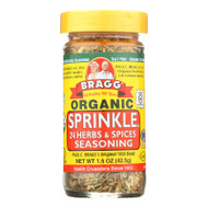 Bragg - Seasoning - Organic - Bragg - Sprinkle - Natural Herbs And Spices - 1.5 Oz - Case Of 12