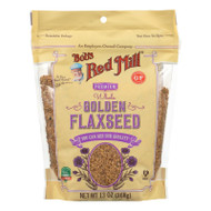 Bob's Red Mill - Flaxseeds - Golden - Case Of 6 - 13 Oz