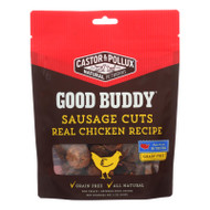 Castor And Pollux - Good Buddy Sausage Cuts - Real Chicken Recipe - Case Of 6 - 5 Oz.