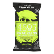 4505 - Cracklins - Chili And Lime - Case Of 12 - 3 Oz.