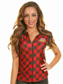 Logolicious™ Blair Top Plaid