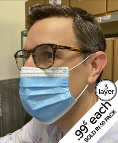 3-LAYER MASK - BOX OF 50