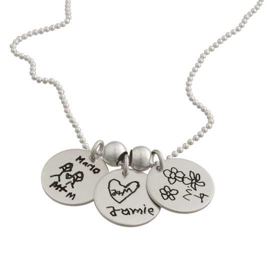 Custom Handwriting Charms