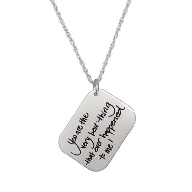 Love Letter Handwriting Charm