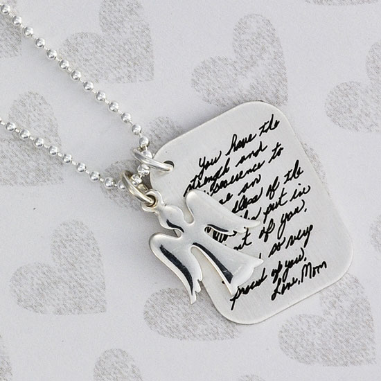 Handwriting Love Letter Charm