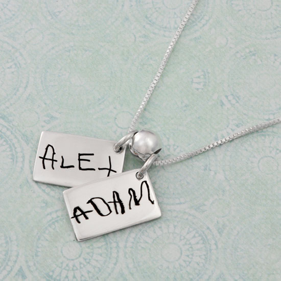 Love Note Charms with Names
