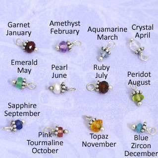semi-precious birthstones all months