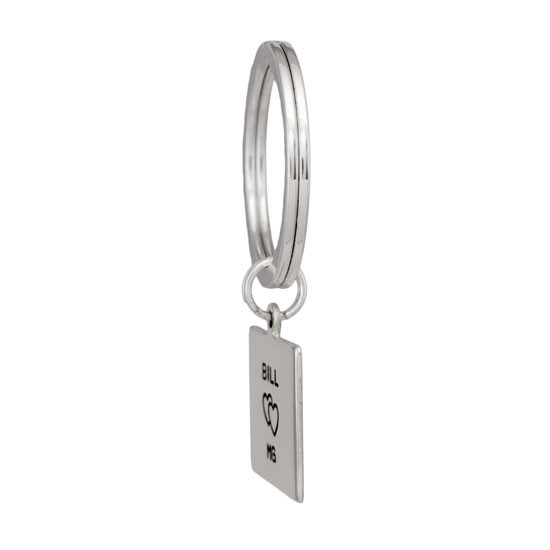 Square Life Key Ring