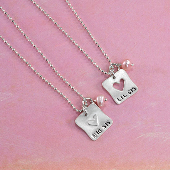 Big Sis Little Sis Necklaces