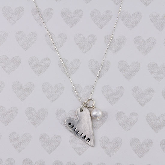Heart Mommy Necklace