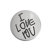 Sterling silver custom golf ball marker with your handwriting