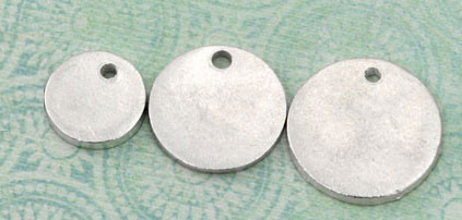 Three smallest sizes shown here
