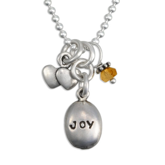 Joy Inspirational Necklace