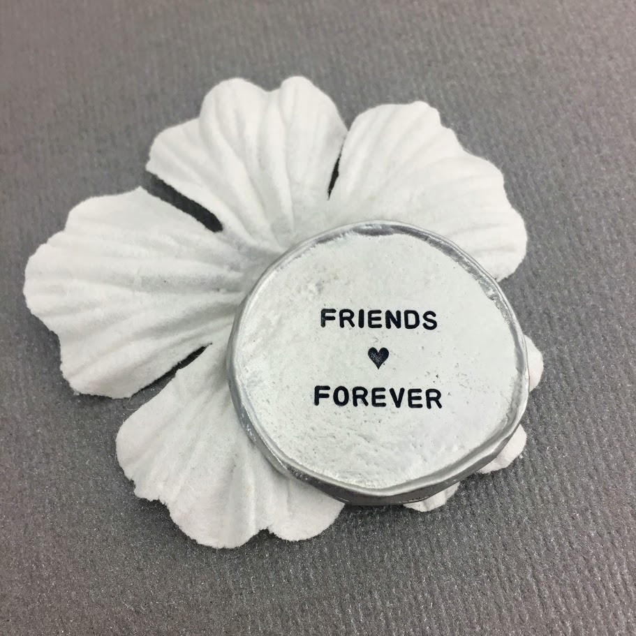 Friends Forever Pocket Charm Token