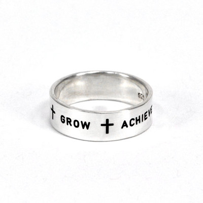 Believe Grow Achieve Ring