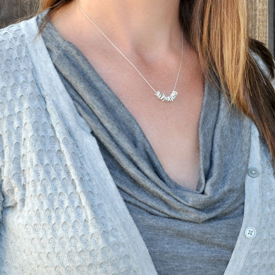 Milestones necklace