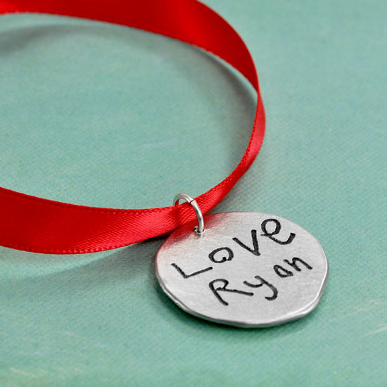 Love You Memorial Christmas Tree Ornament