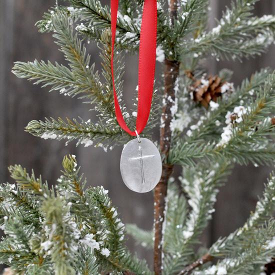 Memorial Ornament with custom handwriting