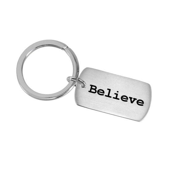 PANDAS PANS AE Awareness Key Ring - Believe