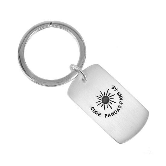 PANDAS PANS AE Awareness Key Ring - Back