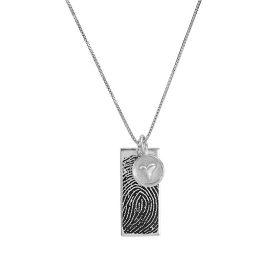 Custom fingerprint jewelry