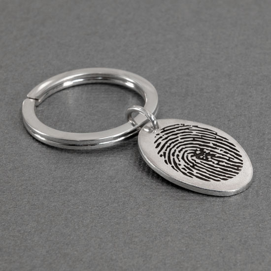 fingerprint key chain remebrance