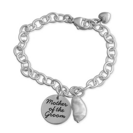 Mother of the groom bracelet