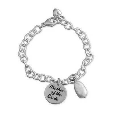 Mother of the bride bracelet