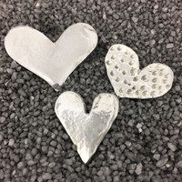 Handmade pewter magnets