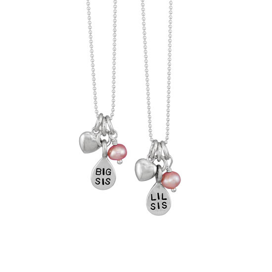 Sister Necklace Set