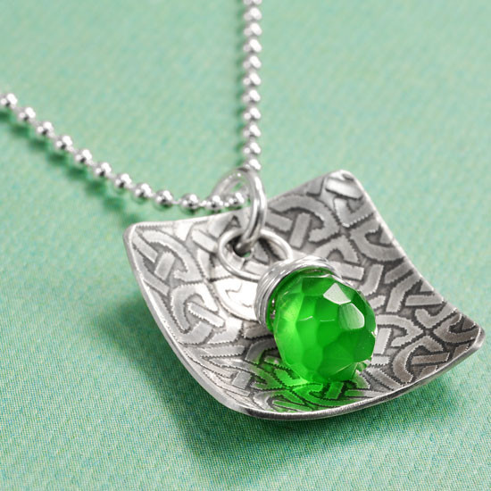 St patty's day necklace