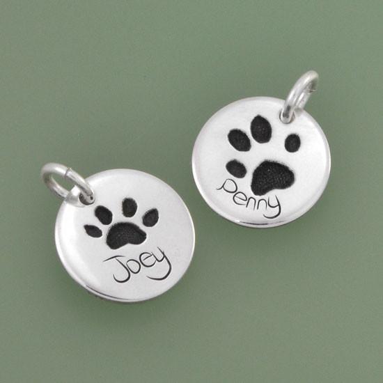 Custom handwriting jewelry charm