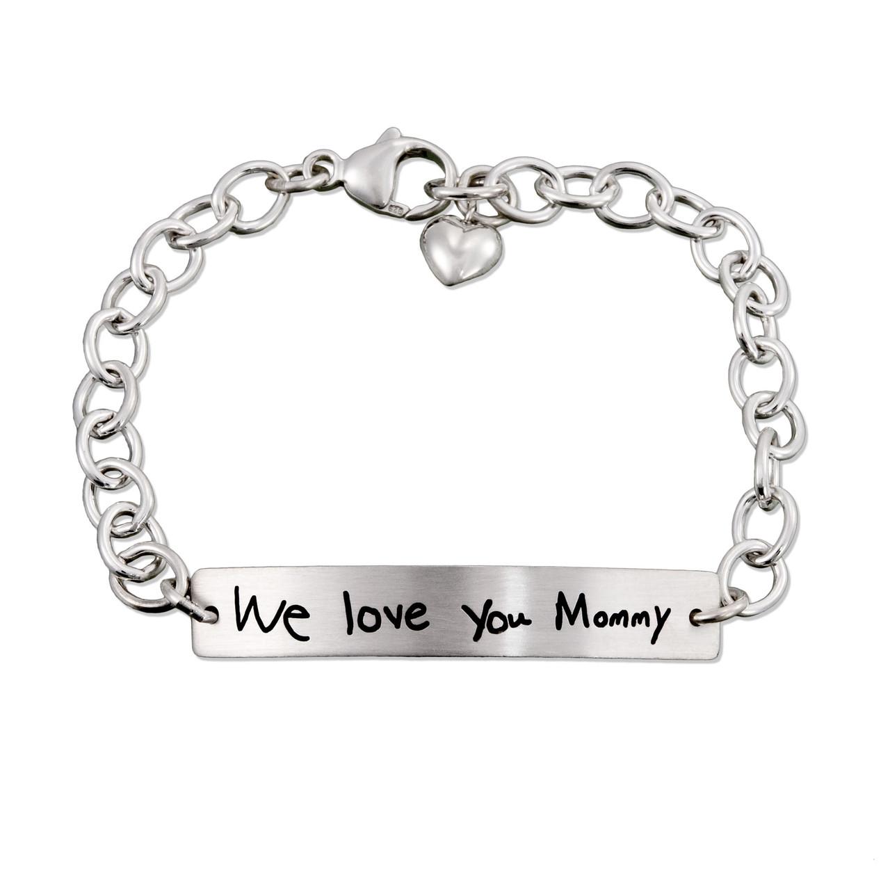 Love you mommy bracelet