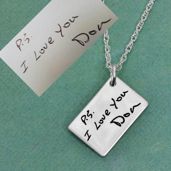 Love note pendant