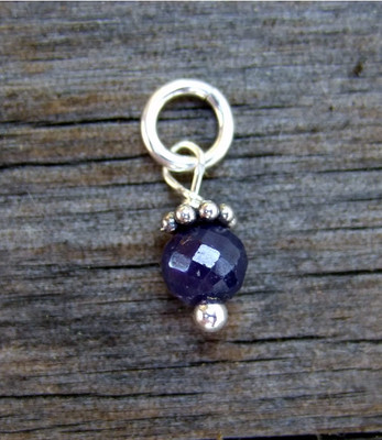Faceted Sapphire (Sept)
