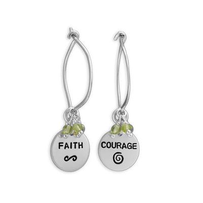 Faith & Courage Earrings