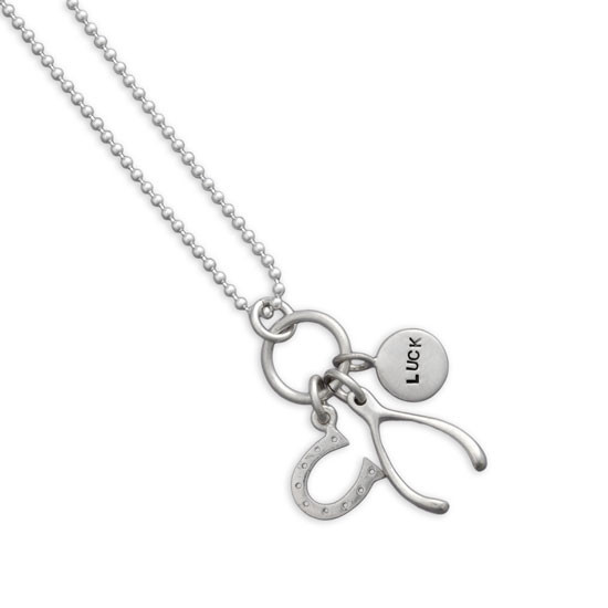 good bird necklace all horseshoe luck s horseshoesilver jewelry tail shop