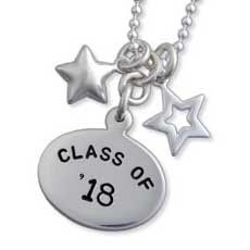 Grad with Stars Necklace